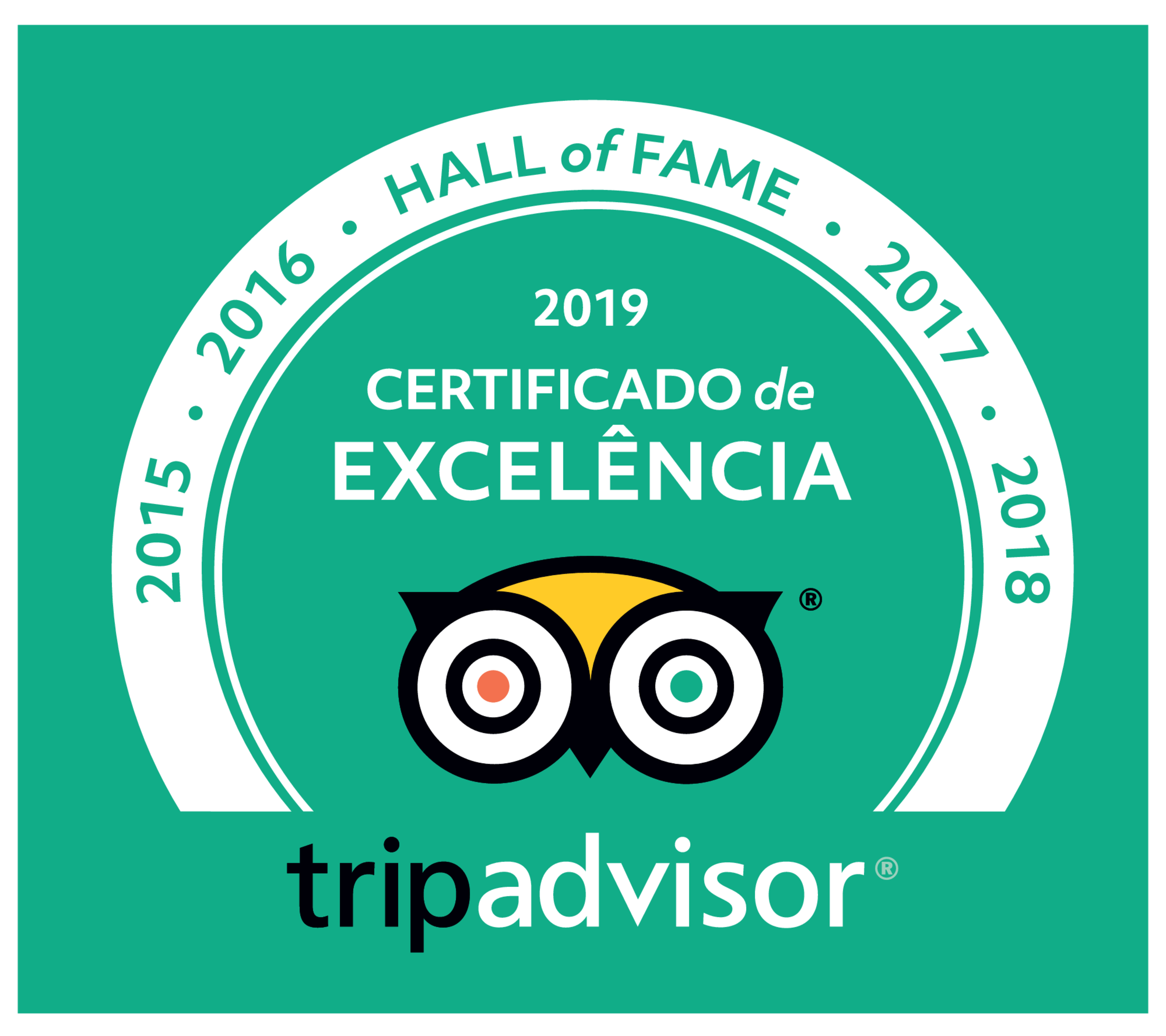Populi no Hall of Fame de Excelência do TripAdvisor